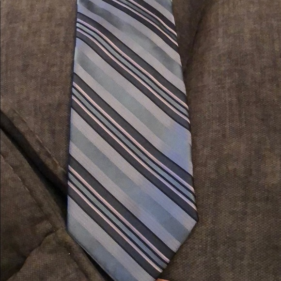 Calvin Klein Other - Calvin Klein Blue striped tie